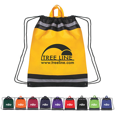 promotional free 24 hour rush drawstring sport packs