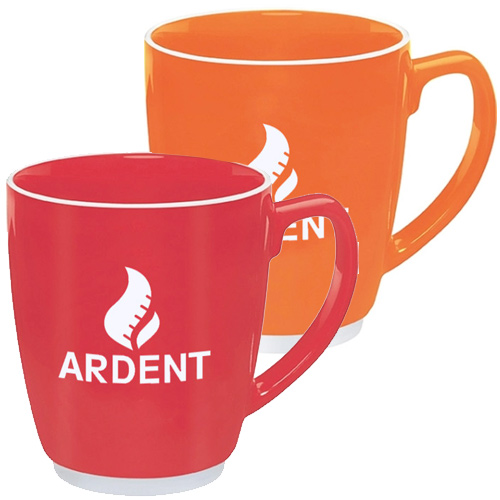 promotional free 24 hour rush ceramic mugs
