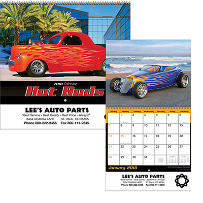 promotional new calendars