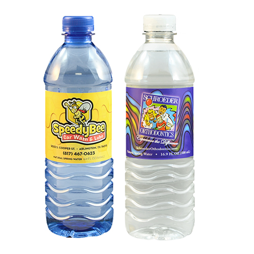 promotional water & beverages