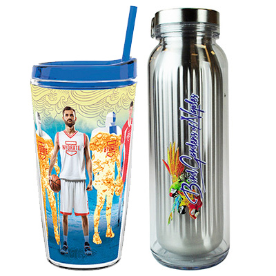 promotional full color drinkware