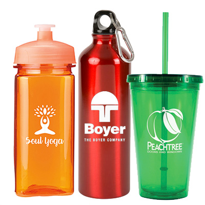 promotional on sale drinkware