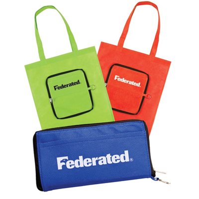 promotional free set up bags