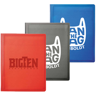 promotional free set up stationery & folders