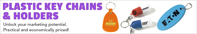 Promo Direct - Plastic Key Chains & Holders