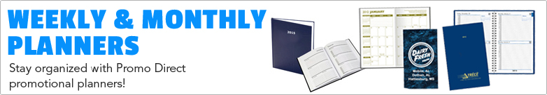 Promo Direct - Weekly & Monthly Planners