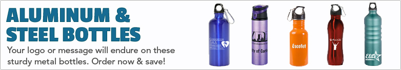 Promo Direct - Aluminum & Steel Bottles