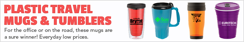 Promo Direct - Plastic Travel Mugs & Tumblers