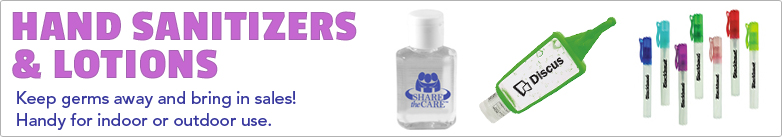 Promo Direct - Hand Sanitizers & Lotions