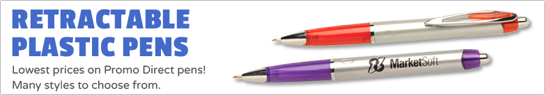 Promo Direct - Retractable Plastic Pens