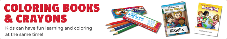Promo Direct - Coloring Books & Crayons