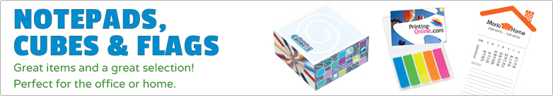 Promo Direct - Notepads, Cubes & Flags