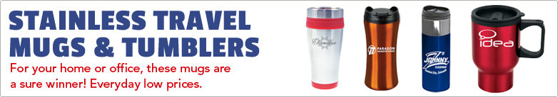 Promo Direct - Stainless Travel Mugs & Tumblers