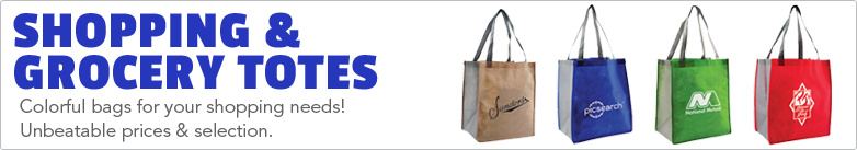 Promo Direct - Shopping & Grocery Totes