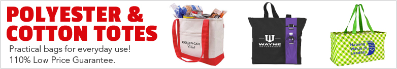 Promo Direct - Cotton & Polyester Totes