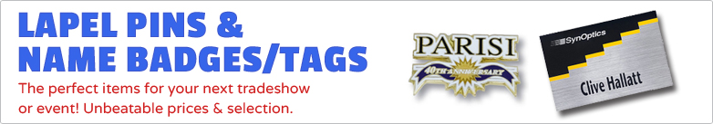 Promo Direct - Lapel Pins & Name Badges/Tags