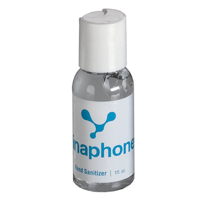 1 Oz Clear Sanitizer