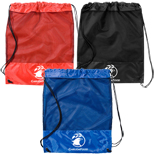Promotional Cinch Pack, Custom Imprinted Cinch Pack, Mesh Cinch Pack