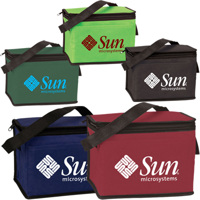 nonwoven six pack cooler