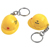 Customized Mini Hard Hat Keychain