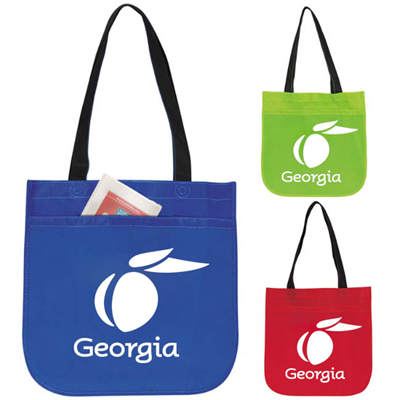 Customized Circle Tote Bags