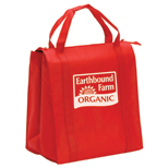 14351R - Insulated Non-Woven Grocery Tote - Closeout