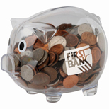 Customized Piggy Bank - Promotional Piggy Banks