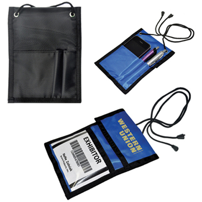 trade show badge holder