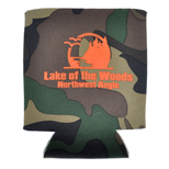 14615 - Camo Collapsible Kan Cooler