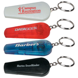 Promotional Whistle Key Light, Custom key Chain Lights