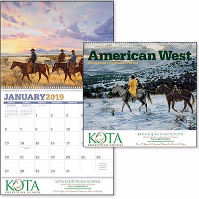 american west calendar