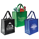 Promotional Laminate Tote, Personalized Laminate Tote