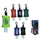 Custom Tethered Hand Sanitizer, Promotional Tethered Hand Sanitizer