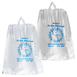 15090 - 9-1/2 x 12 Poly Draw Bag