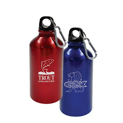 17 Oz Geo Aluminum Bottle