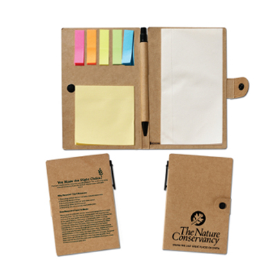 Flags & Sticky Notes Notebook