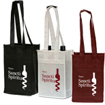 16094 - Polytex 2 Bottle Wine Tote