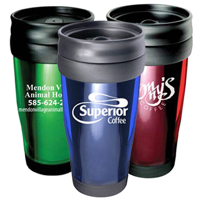 15oz Translucent Travel Tumbler