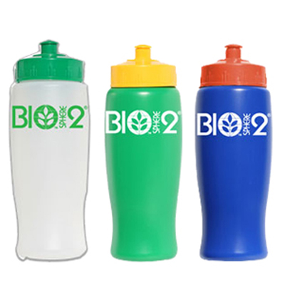 Eco-Aware Biodegradable Bottle