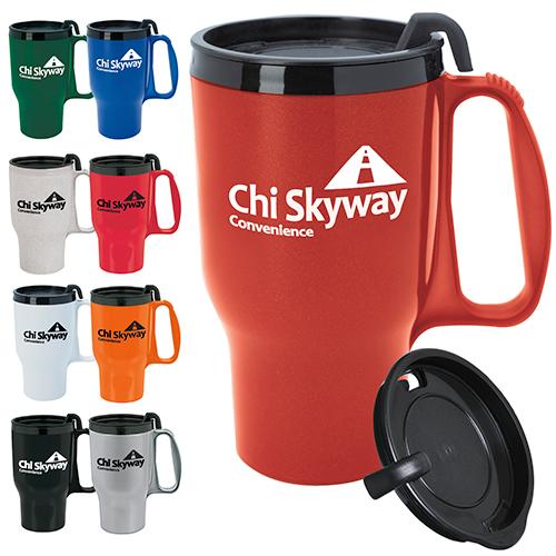 budget traveler mug