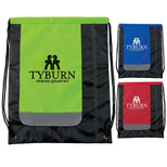 Promotional Drawstring Bags - Linear Cinchpack