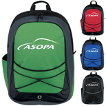 Promotional Tri-Tone Sport Backpack