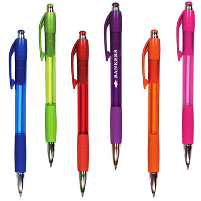 Mardi Gras Grip Pen