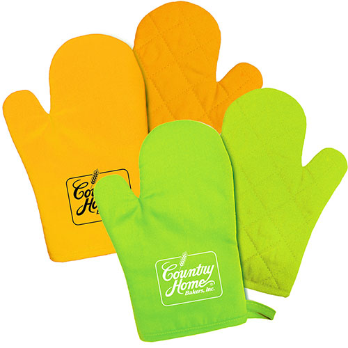 kitchen bright oven mitt