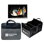 Promotional Cargo Organizer, Expandable Two Section Trunk Organizer