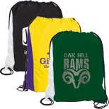 Promotional Polyester Rival Two Tone Backsack