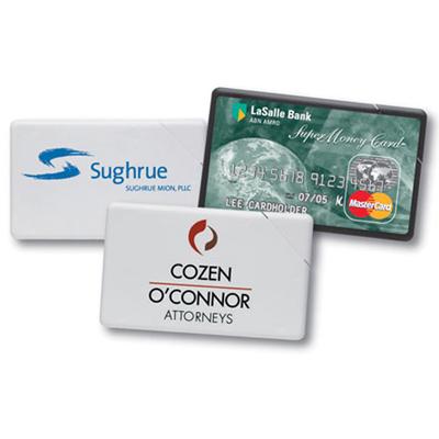 plastic mint card