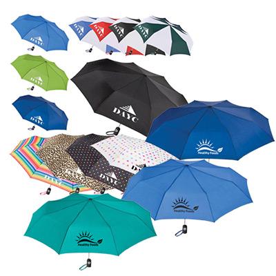 43 auto open/close promo umbrella