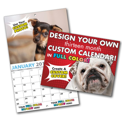 Customized 13 Month Wall Calendars 2018