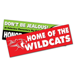 Custom Bumper Sticker, Removable Bumper Sticker